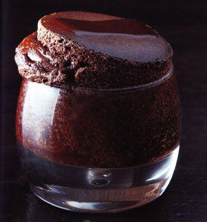 Soufflé au chocolat de Christophe Felder.