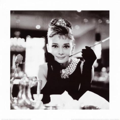 Audrey Hepburn i Frukost på Tiffany's Konsttryck