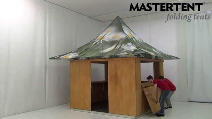 Setup of the NEW MASTERTENT PopUp Store!