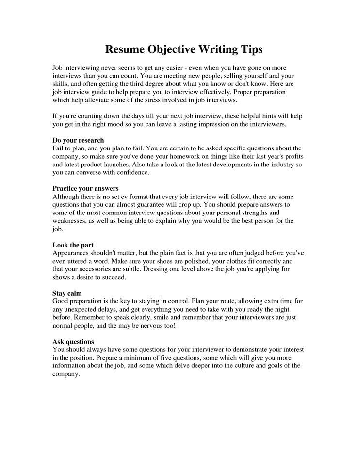 Best 25+ Sample objective for resume ideas on Pinterest - resume objective for manufacturing