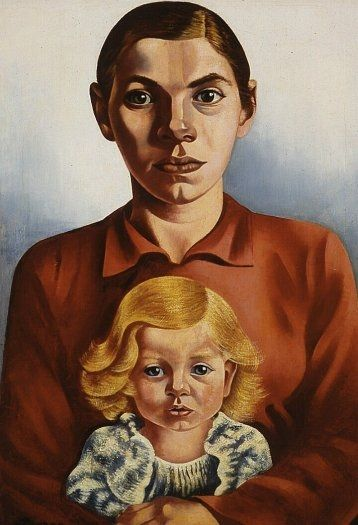 Mother and Child, 1934 - Charley Toorop (1891 - 1955)
