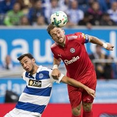 German second division Bundesliga match: MSV Duisburg vs Holstein Kiel