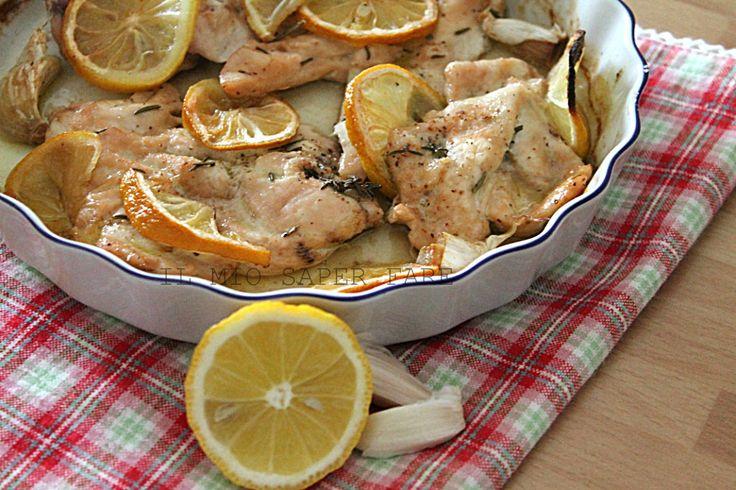 Pollo al limone ricetta light  il mio saper fare
