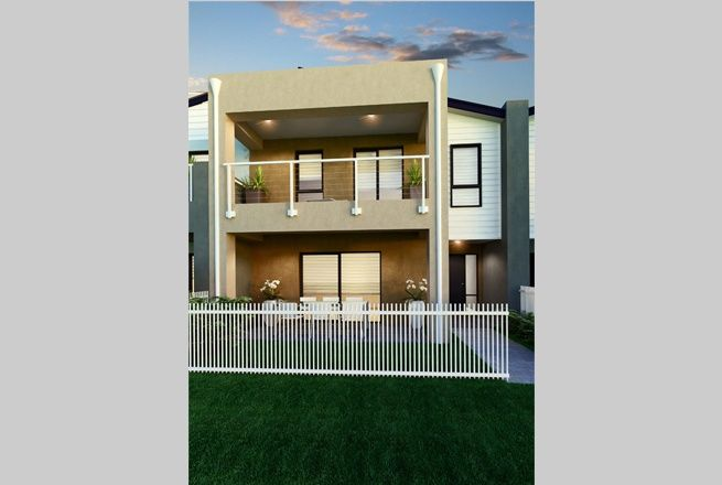 Solana with 245 Urban Facade.  The Solana exemplifies modern living with three impressive living areas. The key entertaining areas are located on the one floor separate from the bedrooms. This terrace home is excellent value for money.