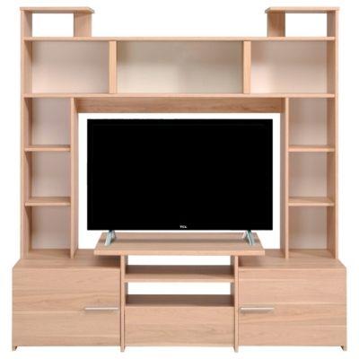 Mobilier - Salons et Séjours - Meubles Tv - Meuble TV FORUM 9837PATV Chêne Dakota