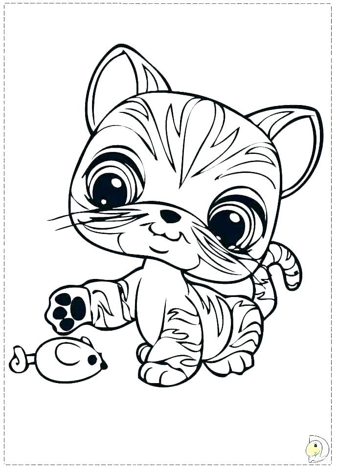 Littlest Pet Shop Coloring Pages for Kids - Free Printables | 960x691