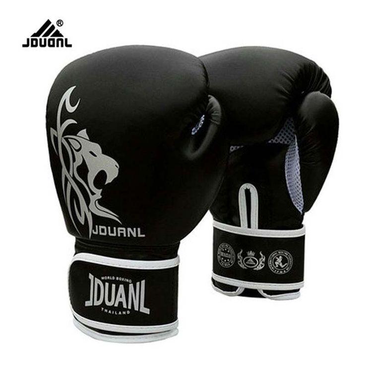 10 oz PU Muay Thai Bokshandschoenen MMA Sanda Martial Kungfu 2017 Nieuwe Vrouwen Mannen Vechten Zandzak Training Wanten luvas boxeo Guantes