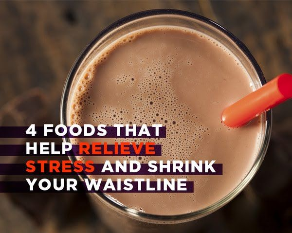 4 Foods That Help Relieve Stress and Shrink Your Waistline | Women's Health Magazine