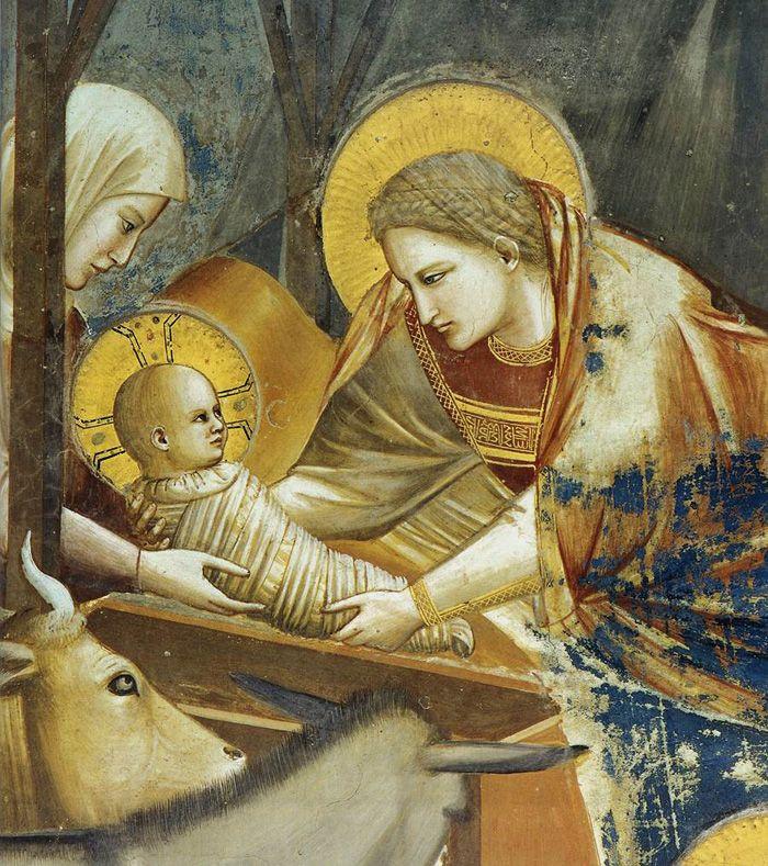 Giotto, Nativity at the Scrovegni Chapel