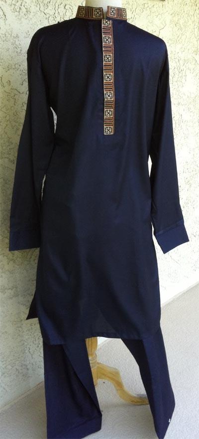 Men's casual styled Pakistani Shalwar Kameez