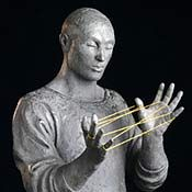 """""""Human Beings interacting, colliding, cooperating, striving and achieving are the themes I wish to portray in my sculptures."""" culptor Bill Starke, born in 1946, received his Bachelor of Fine Arts degree in 1973 from Metropolitan State College in Denver having majored in Drawing and Printmaking. For the past several years Starke has worked exclusively in bronze. 