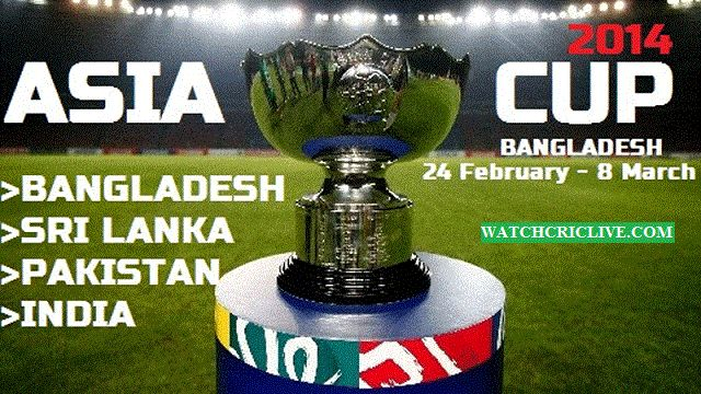 Asia Cup Live Streaming. Watch Asia Cup 2014 Live Cricket Streaming Free Online Telecast on Ten Cricket HD Broadcast. Asia Cup Schedule and Live Score on Internet