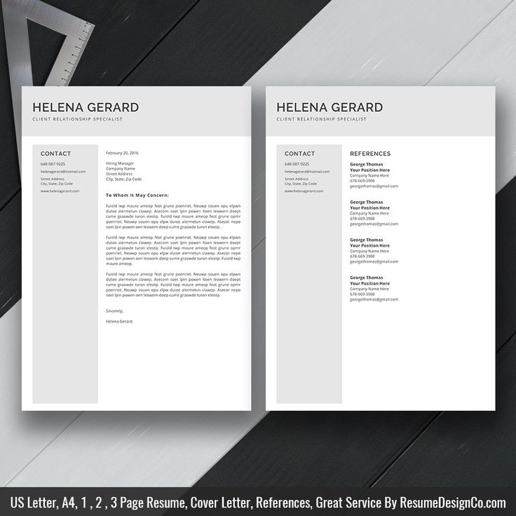 Complete Guide To Microsoft Word Resume Templates: Best 25+ Professional Reference Letter Ideas On Pinterest