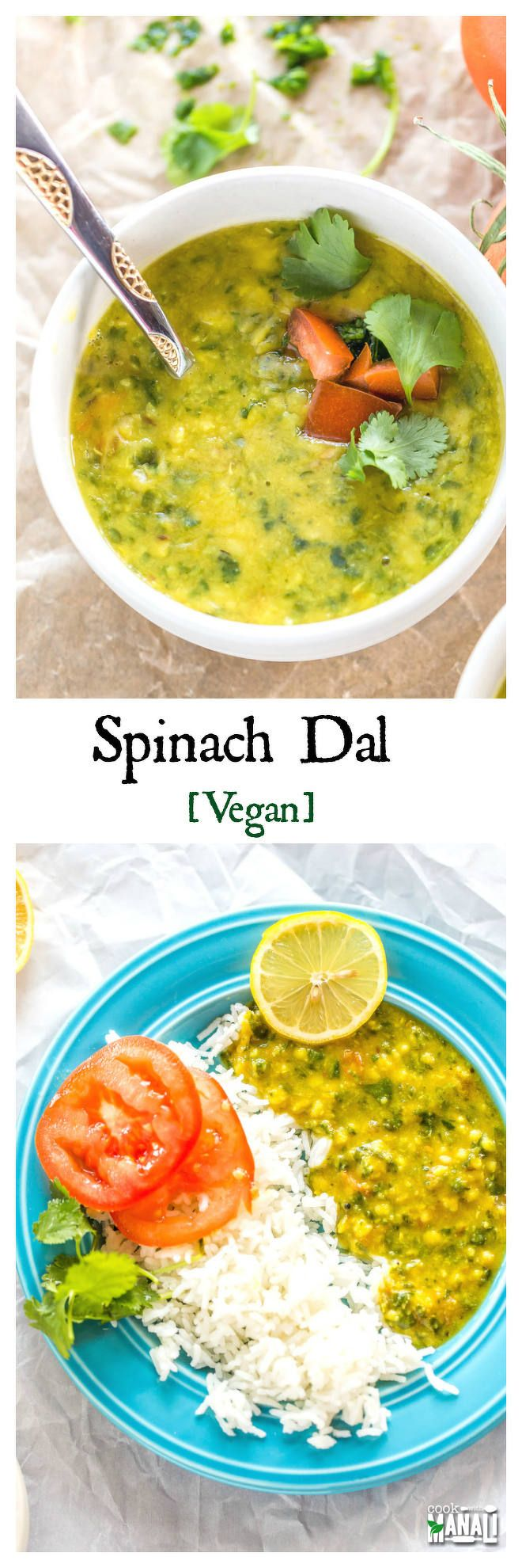 Spinach Dal - Cook With Manali