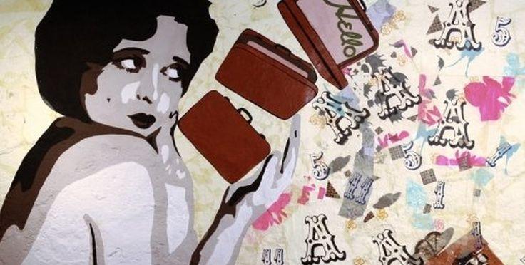 バンクシーも認める情熱の女性・Btoy。法学部をやめてストリートアーティストに!