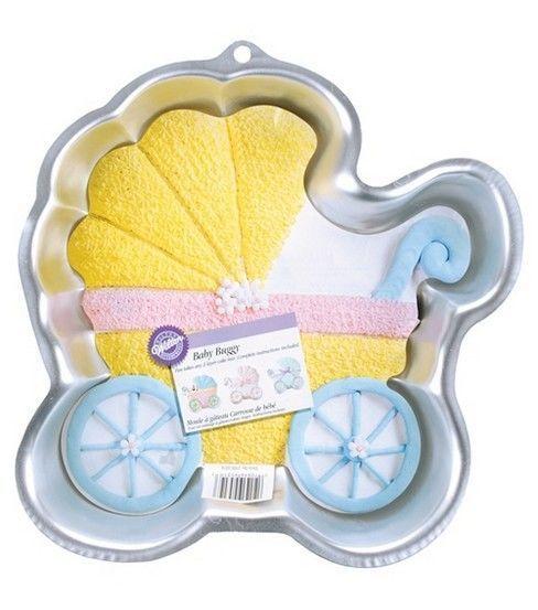 Wilton Cake Pans Novelty Baby Buggy