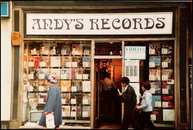1980s Cambridge: Andys Records