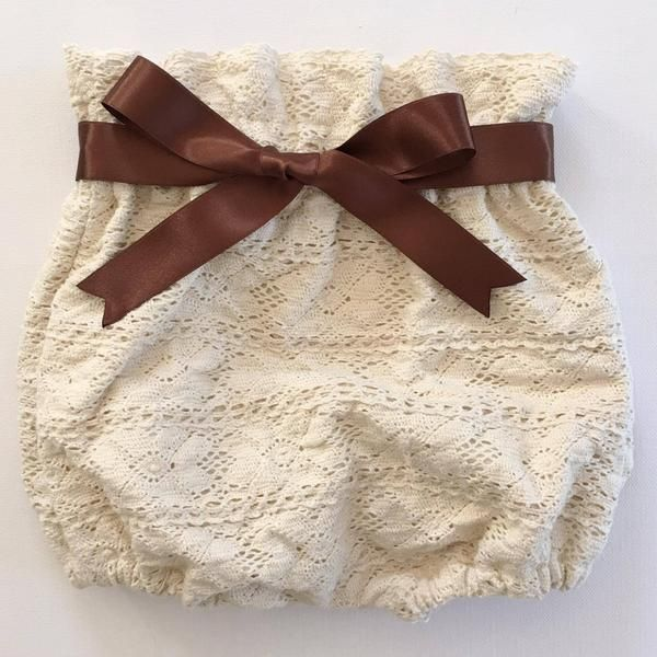 Eighteen Fifty One handmade full cotton lace bloomers for babies and toddlers