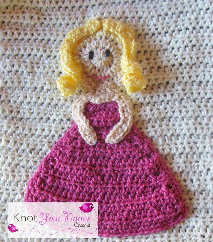 Crochet Girl Applique