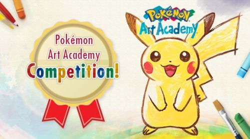 Pokémon Art Academy Competition				                                                                       				   Put your Pokémon creativity on display in an online competition featuring art made in Pokémon Art Academy! Create your masterpiece using the Pokémon Art Academy game for the Nintendo 3DS family of systems, then post your work to the Pokémon Art Academy  Miiverse community. The winning artists will receive a 100-card pack of  custom-designed Pokémon Trading Card Game cards…