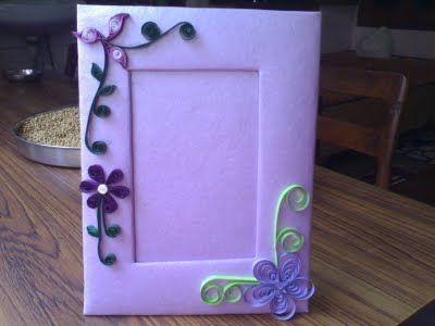 how to make a photoframe from cardboard