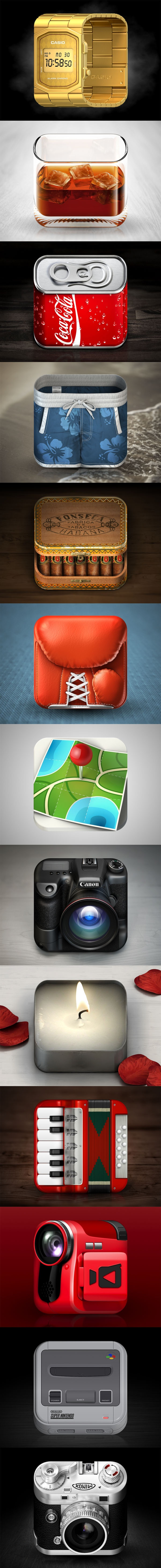 Konstantin Datz-iOS Icons  Collection of some iOS Icons i made in 2011 and 2012