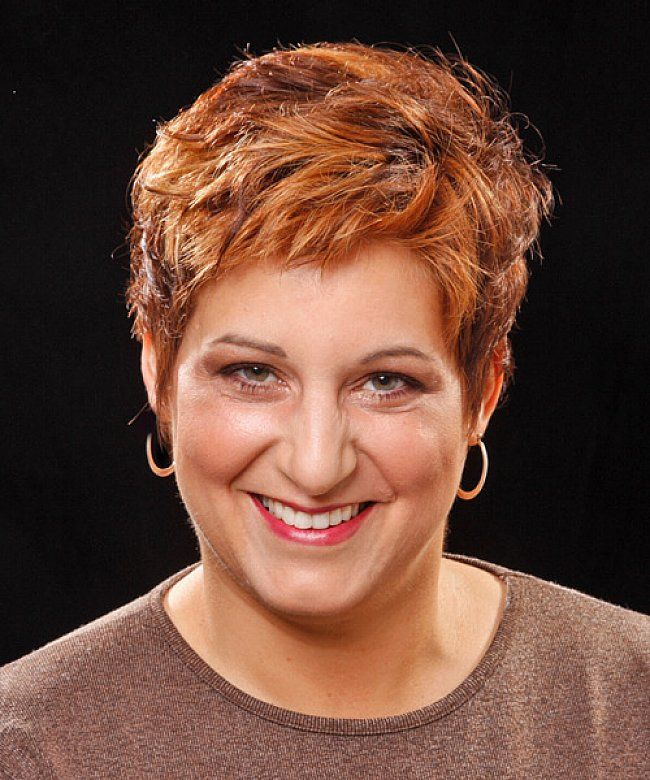 Short Hairstyles Women Over 50 | Very short hairstyles for women over 50 with brown hair