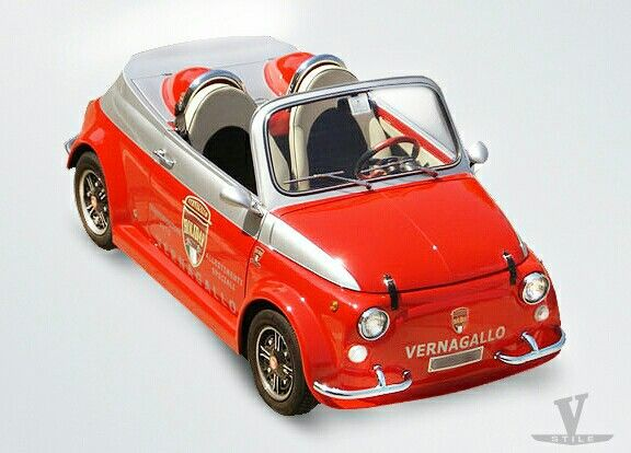 FIAT 500 SPEEDSTER by VERNAGALLO-Customized and Restoration-Exotics-SuperCars
