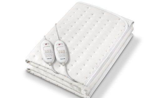 Beurer TS 26-Chauffe-lit surmatelas chauffant 2 places: Chauffe-matelas 2 places. La sécurité alliée au confort grâce au système de…