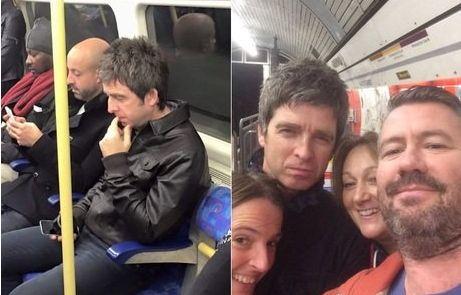 Noel Gallagher pega metrô para fazer participação em show do U2 http://r7.com/9ezm