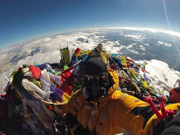 Ever Wonder What The Top Of Everest Looks Like?