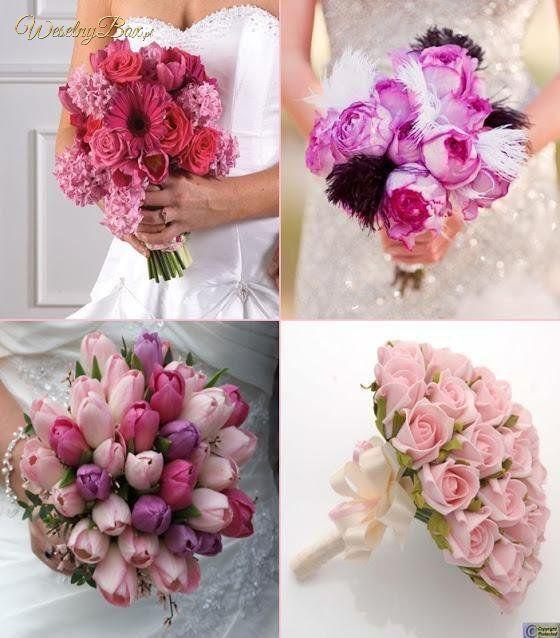 Kolorowe kwiaty w BUKIECIE ŚLUBNYM!