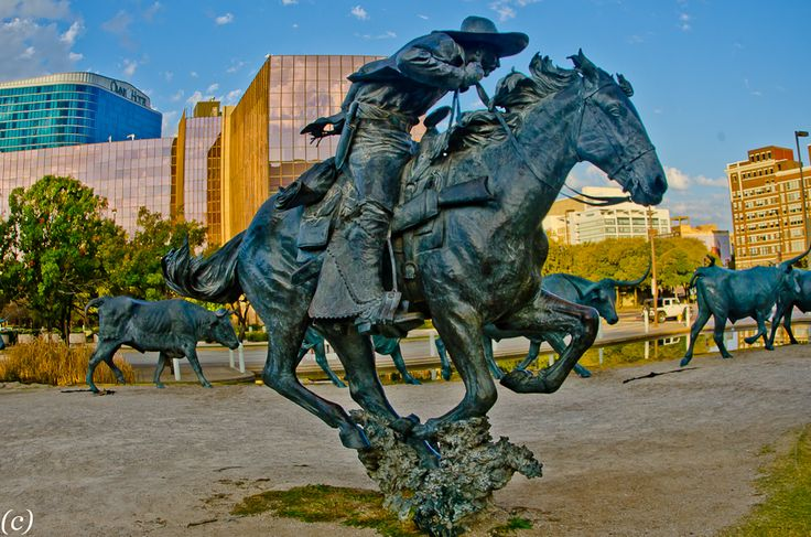 Fort Worth bronze art   Pioneer_Plaza_Dallas-6.jpg