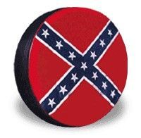 All Things Jeep - Spare Tire Cover - Confederate Flag