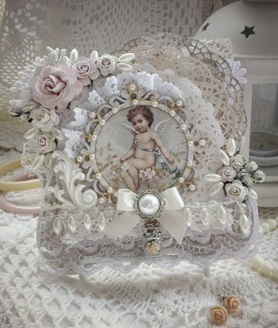 218 best images about shabby chic on pinterest olivia d for Couronne shabby chic