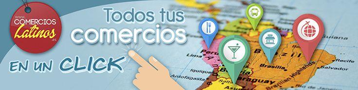 Portal Latino , comercioslatinos.es aqui encontraras los comercios y servicios latinos de tu ciudad , todos en un solo lugar, peluquerias, agencias de viajes, bares, restaurantes,servicios profesionales, tiendas de alimentacion , locutorios, eventos , todos a un solo click.