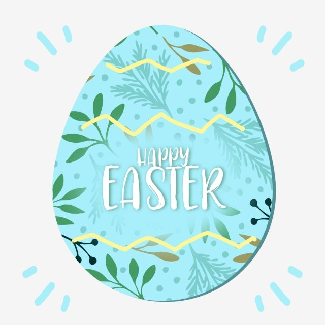 Blue Cute Cartoon Easter Border Blessing Element Ins Style Easter Eggs S And Plants Png Transparent Clipart Image And Psd File For Free Download Easter Frame Clip Art Clip Art Borders