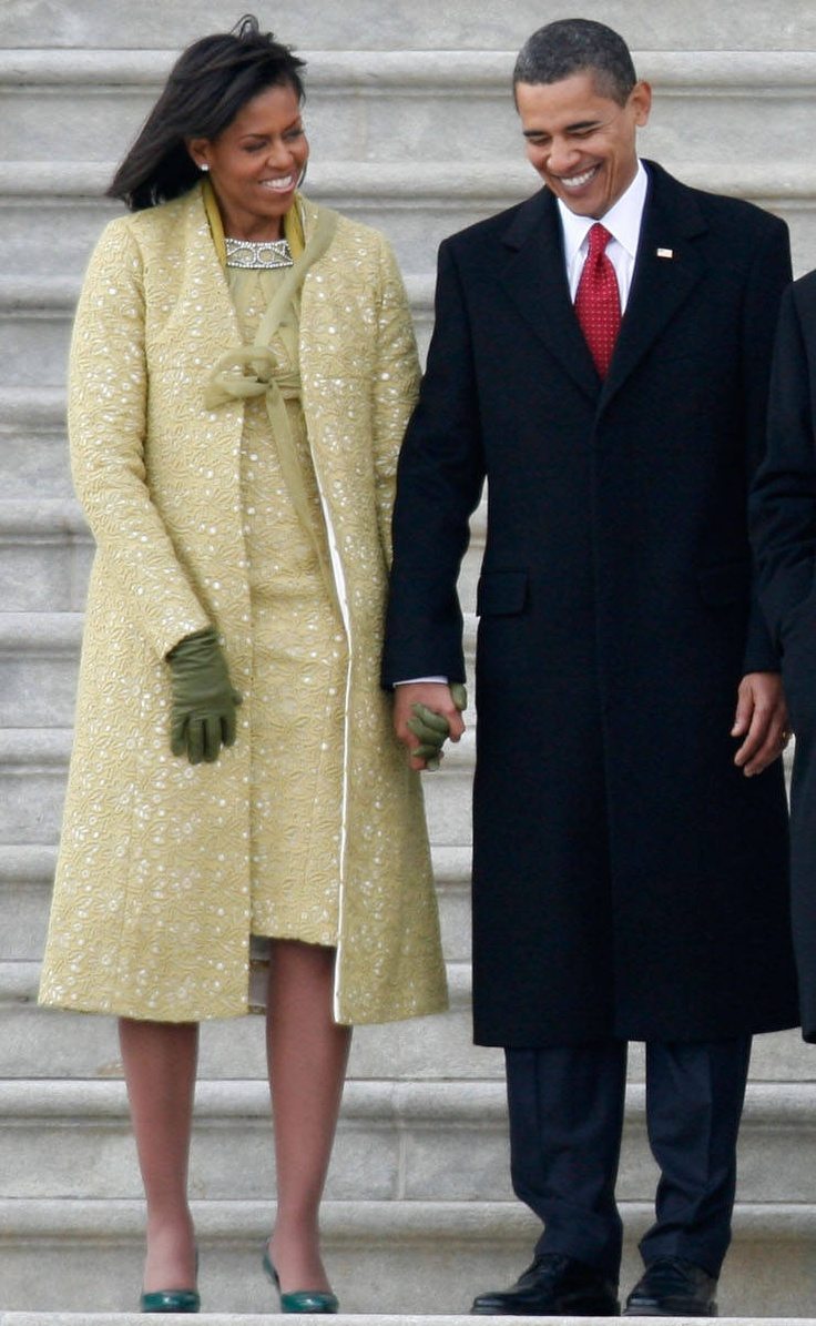 Michelle Obama's Inauguration Day Coat by Isabel Toledo, 2008