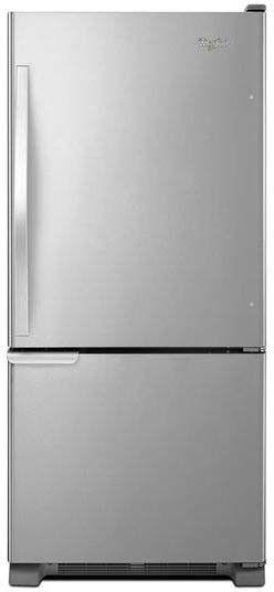 18.5 Cu. Ft. Stainless Steel Bottom Freezer Refrigerator - Energy Star