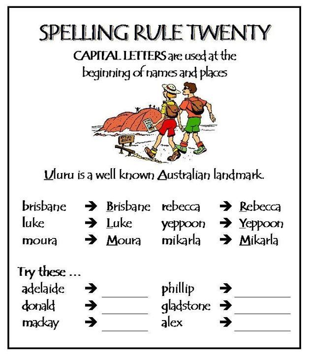 english spelling rules book pdf