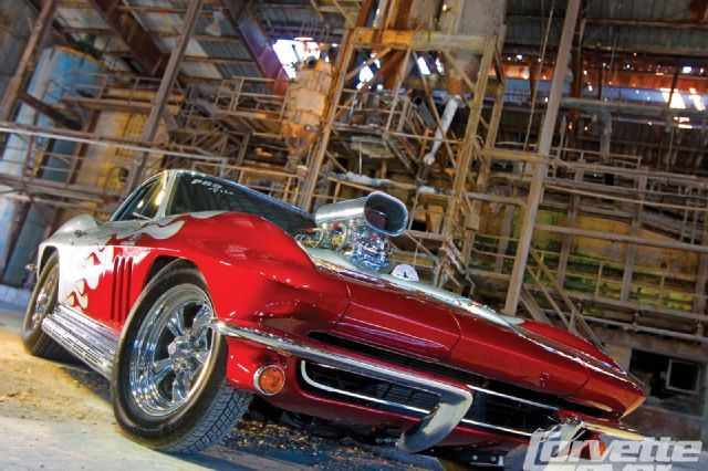 Gary went to the Super Chevy Show at Maple Grove Raceway near Reading, Pennsylvania-an easy trip from his Mannington, New Jersey home-and he spotted a 1965 Chevy Corvette Sting Ray coupe for sale in the show's swap meet. - Corvette Fever Magazine