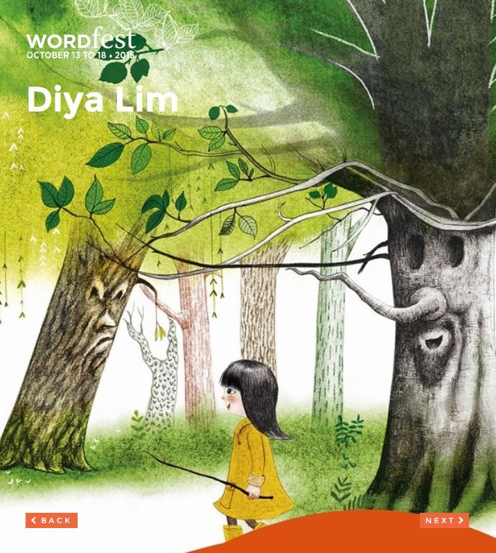 Presented at Wordfest Youth 2015: FRENCH / ENGLISH - GRADE K-6. Books in French only but Diya Lim is bilingual: might be perfect for French immersion groups. Diya Lim a écrit la nouvelle Larouspiol suivie du roman jeunesse Les enfants du ciel, un livre récemment paru aux Éditions L'Interligne. Diya Lim est originaire de l'île Maurice -  See more at http://wordfest.com/artists/youth-authors/diya-lim?cid=7