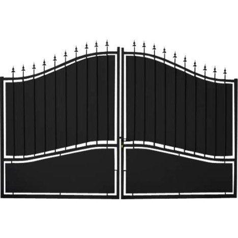 1000 ideias sobre portail aluminium battant no pinterest. Black Bedroom Furniture Sets. Home Design Ideas