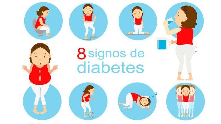 8 síntomas iniciales de diabetes