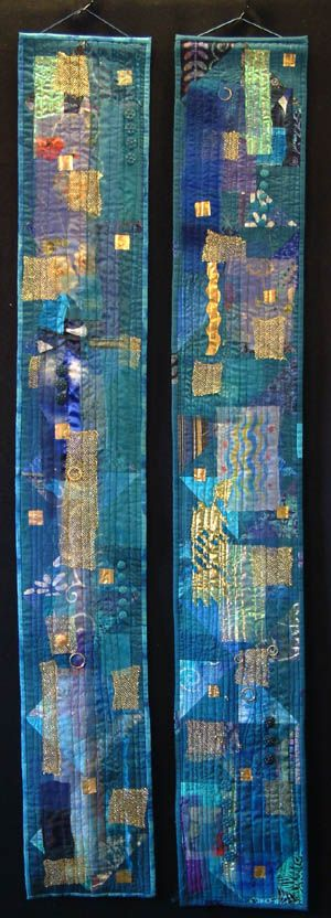 Blue Moods - Helen Howes. check out her website through this link; great pieces.