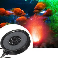 #Banggood Красочные рыбы увеличение бак кислорода LED пузырь свет пластина аксессуары ес вилка (1097600) #SuperDeals