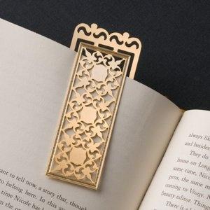 Turkmenistan Long Bookmark in 24KT Gold Plate