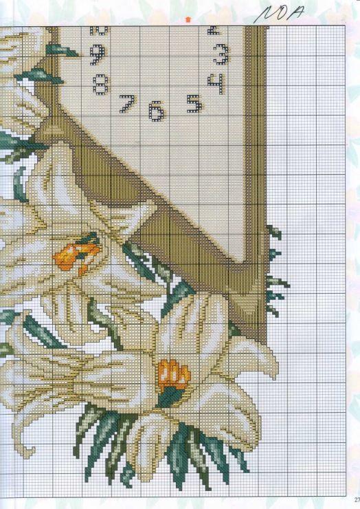Lily Clock 4/4