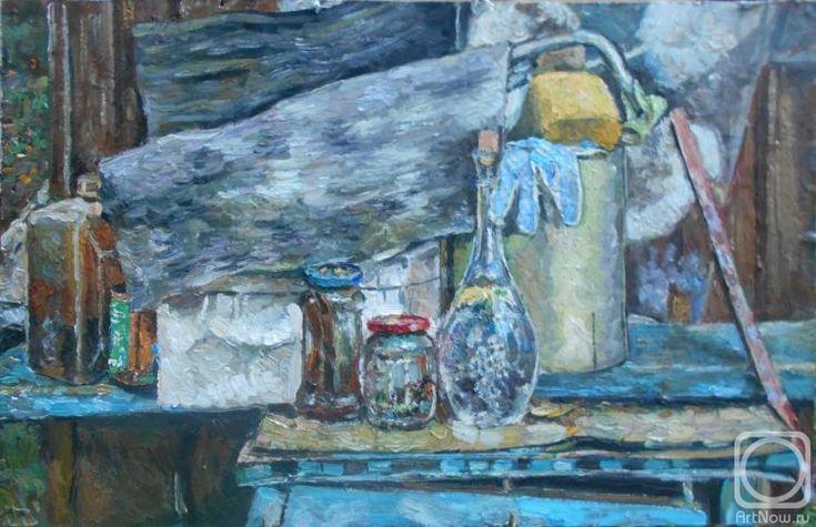 Ягужинская Анна. Пленэрный натюрморт с хламом