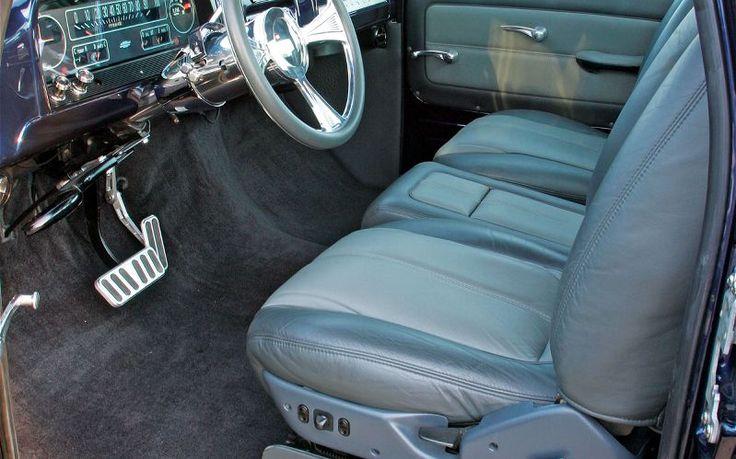 Chevy c10 pickup intererior 1964 chevy c10 pickup truck - Custom leather interior for trucks ...